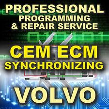 VOLVO Reprogram Service CEM ECM Keys (C30 S40 V50 S/XC60 S80 C70 V/XC70 XC90)