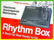 RARE! RHYTHM BOX ANALOG DRUM MACHINE - Low Bass Snappy Snare w-Manual/Batteries!