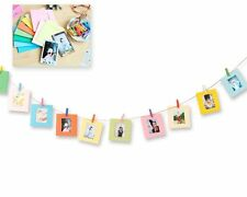 10 Pcs Paper Photo Frame Set For Fujifilm Instax Polaroid mini 9/8/50s/25/7