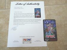 BB King Signed Autographed PSA Certified Laminated Backstage Pass #2
