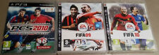 3 Fussball Games Playstation 3 PS3 - Fifa 09 - Fifa 10 - PES 2010