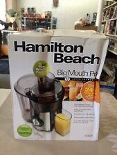 Hamilton Beach Big Mouth Pro Juice Extractor Juicer 67608