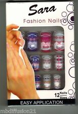 12 FAUX ONGLES - CAPSULE//FRENCH.MANUCURE - SOIREE.FETE.MARIAGE - RéF.S3