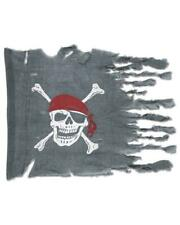 Beistle Company 157137 Weathered Pirate Flag
