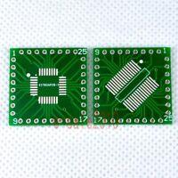 5pcs NEW QFP/TQFP/LQFP/FQFP/SOP/SSOP32 to DIP 32 Adapter PCB Board Converter F08