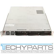SUPERMICRO SYS-6016GT-TF X8DTG-DF 2x Xeon X5550 2.66 GHZ 6GB 2x GPU 1U Server