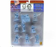 Conte Collectibles American Civil War Union Plastic Figures 54mm Soldiers Set 1