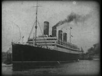 "RMS AQUITANIA 1920 DVD, ""Across the Atlantic in the Worlds Wonder Ship"""