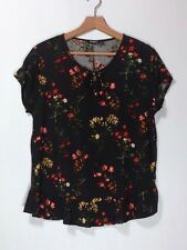 Short Sleeved Blouse by 'Brooks Style'—Size XL