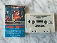 Cyndi Lauper She's So Unusual CASSETTE Tape 1983 CBS FRT 38930 Time After Time