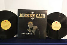 Johnny Cash, A Believer Sings The Truth, Cachet Records CL3-9001, 1979, 2 LPs