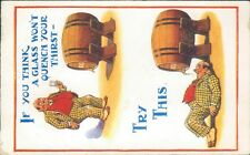 Drunk humour beer barrel