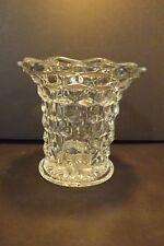 "Vintage Fostoria American Clear 5 1/4"" Flared Vase Early Elegant Crystal EUC"