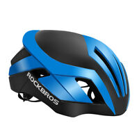 RockBros Blue Cycling Helmet 57cm-62cm Integrally Helmet 3 in 1 with Rain Cover