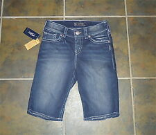 AWESOME NEW WITH TAGS WOMENS SIZE 25 SILVER SUKI BERMUDA SHORTS