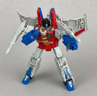 Transformers Siege War For Cybertron STARSCREAM Complete Voyager Wfc Figure