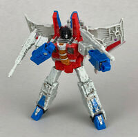 Transformers Siege War For Cybertron STARSCREAM Complete Voyager Wfc Figure