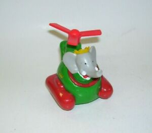 King Babar in Helicopter 1990 by L de Brunhoff   Arby's
