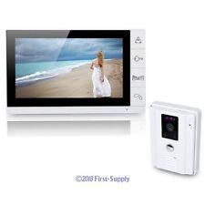 Hardwired 9 Inch LCD Video Doorbell Door Phone Home Intercom System 700TVL 1v1