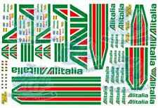 Alitalia Racing Decals | Waterslide Decals for Model Cars in all popular Scales