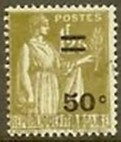"FRANCE TIMBRE STAMP N° 298 "" TYPE PAIX 50 C S 1 F 25 "" OBLITERE TB"