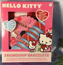 NEW Hello Kitty Friendship Bracelets Kit: To Wear and Share. # 3298