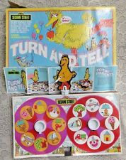 VINTAGE 1973 BIG BIRD TURN AND SPIN MAGICAL MATCHING GAME SESAME STREET