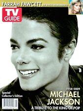 TV Guide 2009 Michael Jackson Collector's Edition Tribute CVR 1 Farrah Fawcett