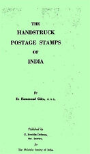 INDIA. The The handstruck postage stamps of India by Hammond Giles