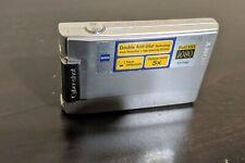 Sony DSC-T100 Cybershot 8.1 Mega Pixels SuperSteadyShot Digital Camera - As Is