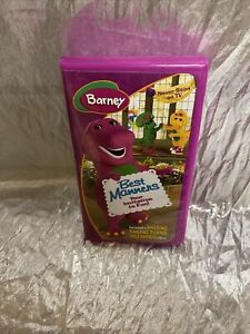 Barney Best Manners Your Invitation To Fun! VHS