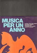 MUSICA PER UN ANNO - artisti vari LP