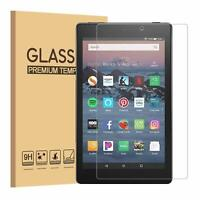 Genuine Tempered Glass Screen Protector for Amazon Fire HD 7 8 10 2020, 2019 UK