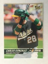 CARLOS GONZALEZ RC - 2008 Topps Stadium Club Rookie Card! #128 CARGO - A's