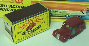 Matchbox 17c Austin Metropolitan Taxi Very Near Mint in Poor Box