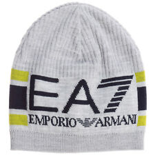 Emporio Armani EA7 beanie men 2759520A11702245 MEDIUM GREY MELANGEANGE cap hat