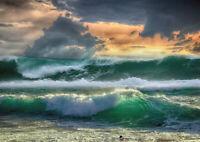 Waves #1 Konen Japanese Print Reproductions Fine Art Print Seascapes
