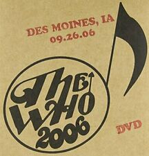 WHO - LIVE: DES MOINES IA 09/26/06 NEW DVD