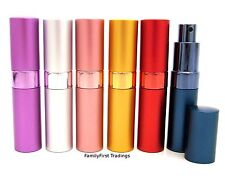 Perfume Aftershave Atomizer Atomiser Bottle 15ml Pump Travel Refillable Spray