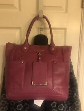 ceaa5c445ed9 Marc Jacobs Pink Genuine Leather Tote Satchel Bag Large
