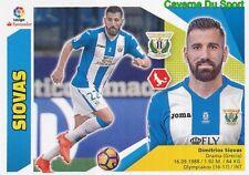 05 DIMITRIOS SIOVAS GREECE HELLAS CD.LEGANES CROMO STICKER LIGA 2018 PANINI ESTE