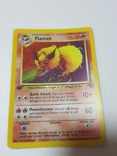Flareon 19/64 Holo Rare Pokemon 1st Edition Jungle Set - Near Mint  - PSA?