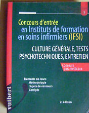 Concours d'entrée en  instituts de formation en soins infirmiers IFSI /H12