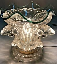 Electric Fragrance Lamp/Oil Burner/Wax Warmer/Night Light with Clear Dolphin