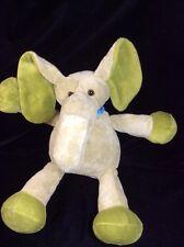 "Old Navy Green Elephant Plush  Soft Toy Stuffed 10"""