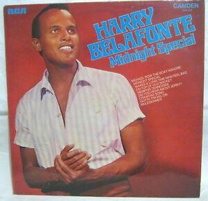 LP Vinyl Album Harry Bellafonte Midnight Special Camden records CDS1100 1972