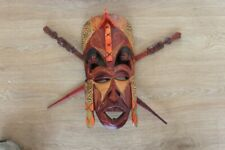 Tribal Wooden Face mask