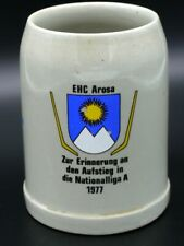 Eishockey 1977 EHC Arosa zum Aufstieg in die National Liga A  [Schw 213