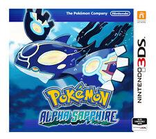 Pokemon: Alfa Safiro (Nintendo 3DS, 2014)
