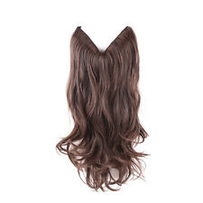 Queentas Dyed Flip On Secret Miracle Wire Soft Synthetic Hair Extensions Brown